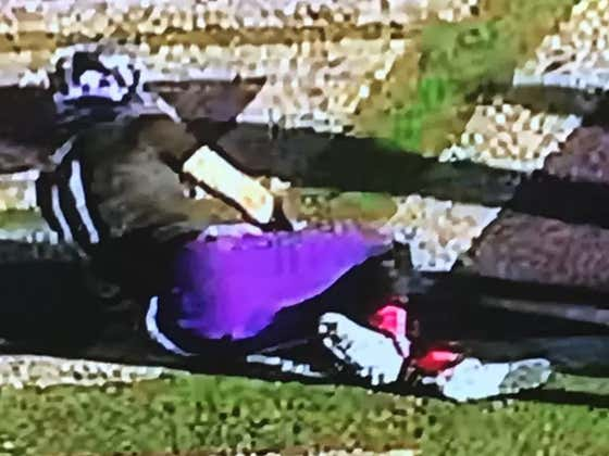 Weber State QB Snaps Leg In Horrific Injury, Tells Trainer To Tape It Up Because He's Going Back In