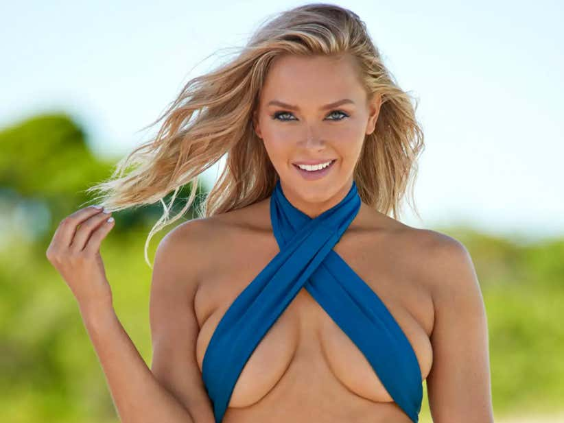 Camille Kostek Trained With Boyfriend Rob Gronkowski For Her 2019 SI Swimsuit Shoot