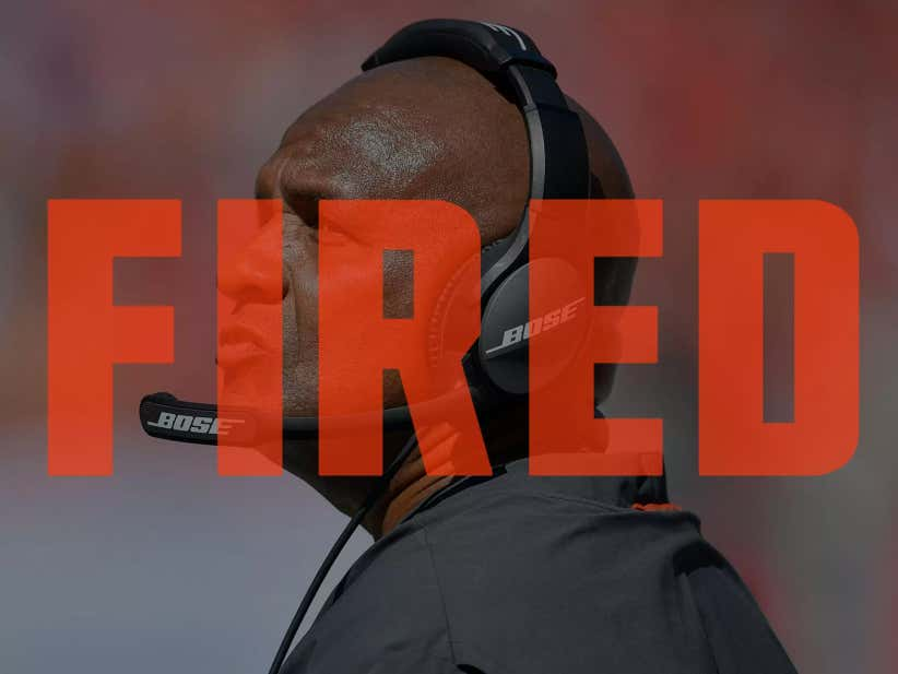 Merry Christmas Browns Fan: Hue Jackson Is Gone