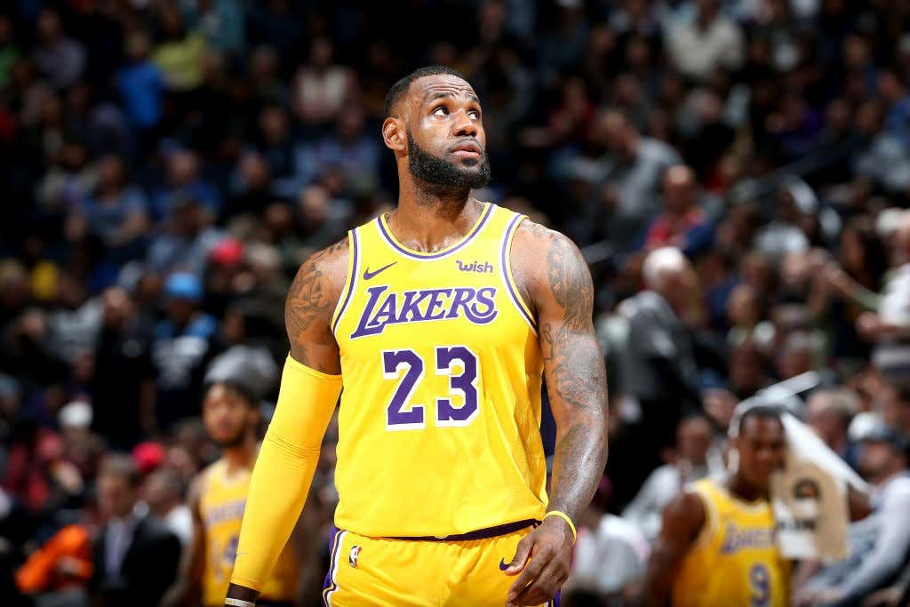 4ee3c27a6cd6 LeBron Is Already Ready To Trade The Entire Lakers Roster - Barstool ...