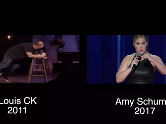 Amy Schumer Is Ranting And Raving On Instagram About Stealing Jokes