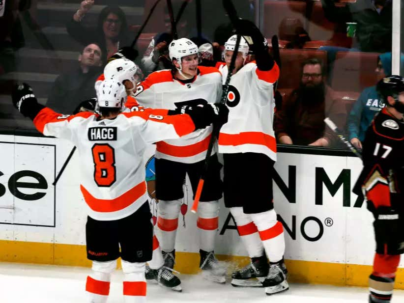 A Win Is A Win: Flyers Get West Coast Trip Started Off By Snapping Their Losing Streak Against The Ducks
