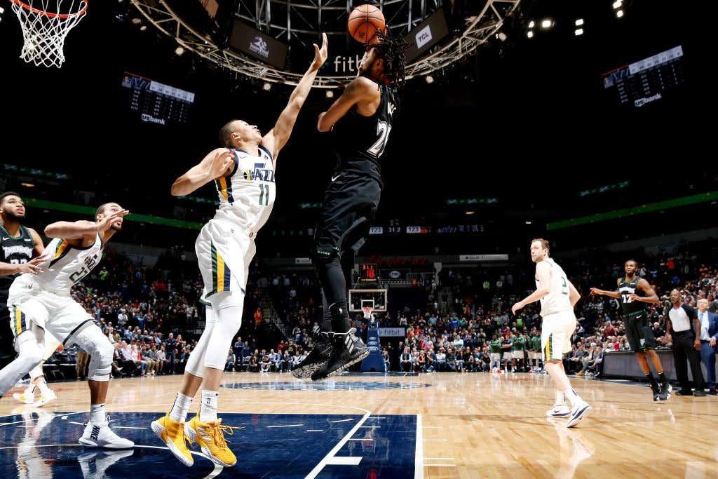 7baedeb5c4f Utah Jazz v Minnesota Timberwolves