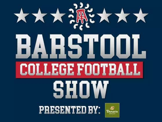 The Barstool College Football Show Presented by Panera – Week 10