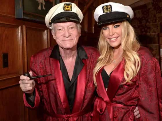 You Can Be The Proud Owner Of Hugh Hefner's Legendary Captain's Hat, Pipe, and Pajamas