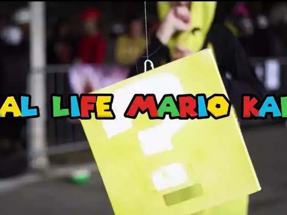 Mantis On The Street: Real Life Mario Kart