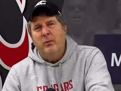 Don't Show PETA This Video Of Mike Leach Expressing His Love For Live Mascots