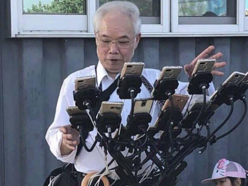 This Grandpa In Taiwan Drops Over $1K Per Month On 'Pokemon Go!'