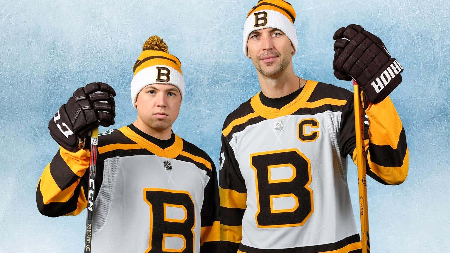 The Boston Bruins Winter Classic jerseys are finally here and boy are they  sharp. When they first leaked on Tuesday I wasn t sure if I liked them or  not. 97d7aead3