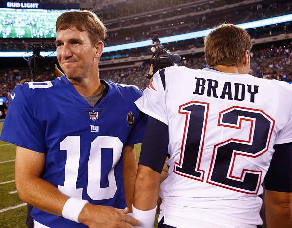 ad6c77c26 The Reactions to Eli vs. Brady Say Everything About Everything ...