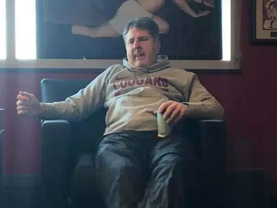 Mike Leach's New Piece Of Art In His Office Is George Costanza Approved