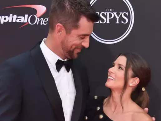 """Aaron Rodgers And Danica Patrick """"Watched A Movie"""" On Their First Date"""