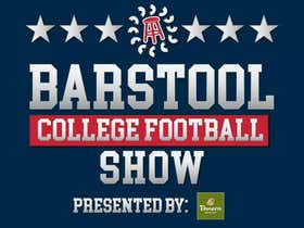 The Barstool College Football Show Presented by Panera – Week 12