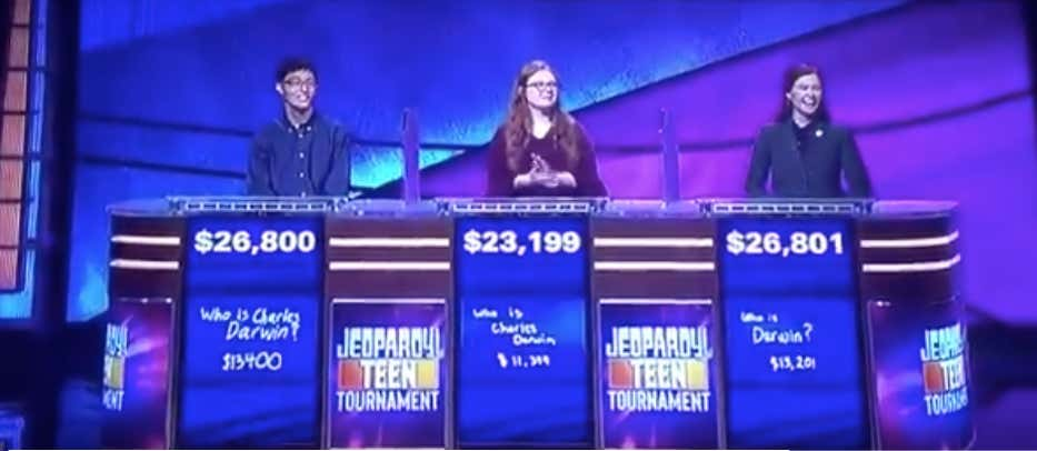 Last Night's Teen Jeopardy Intros Got Extra Spicy - Barstool Sports