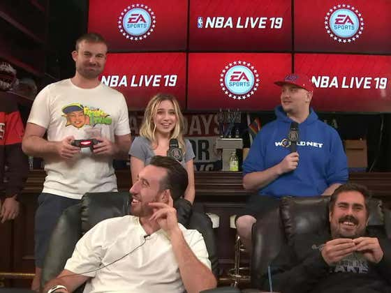 NBA Live Time w/ Frank Kaminsky, Big Cat, Smitty, Coley, Ellie And More From Barstool HQ