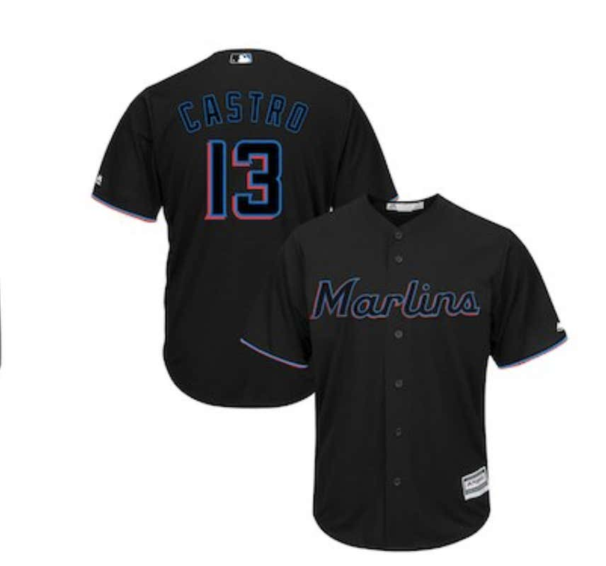 new arrival ffae9 5b6a6 The Miami Marlins Ditch Their Terrible Logo And Uniforms For ...