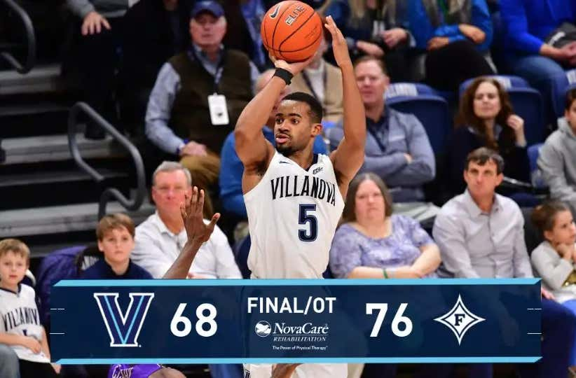 After Losing At Home To Furman It's Time To Ask, Is Villanova Even Good?