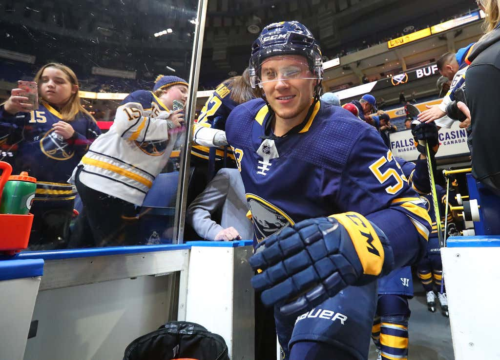 the best attitude 05ea5 bfdae The Buffalo Sabres Can't Afford For Jeff Skinner To Get Any ...