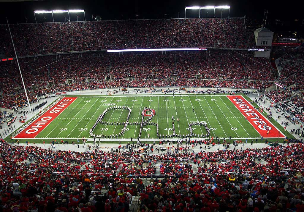 NCAA FOOTBALL: NOV 01 Illinois at Ohio State