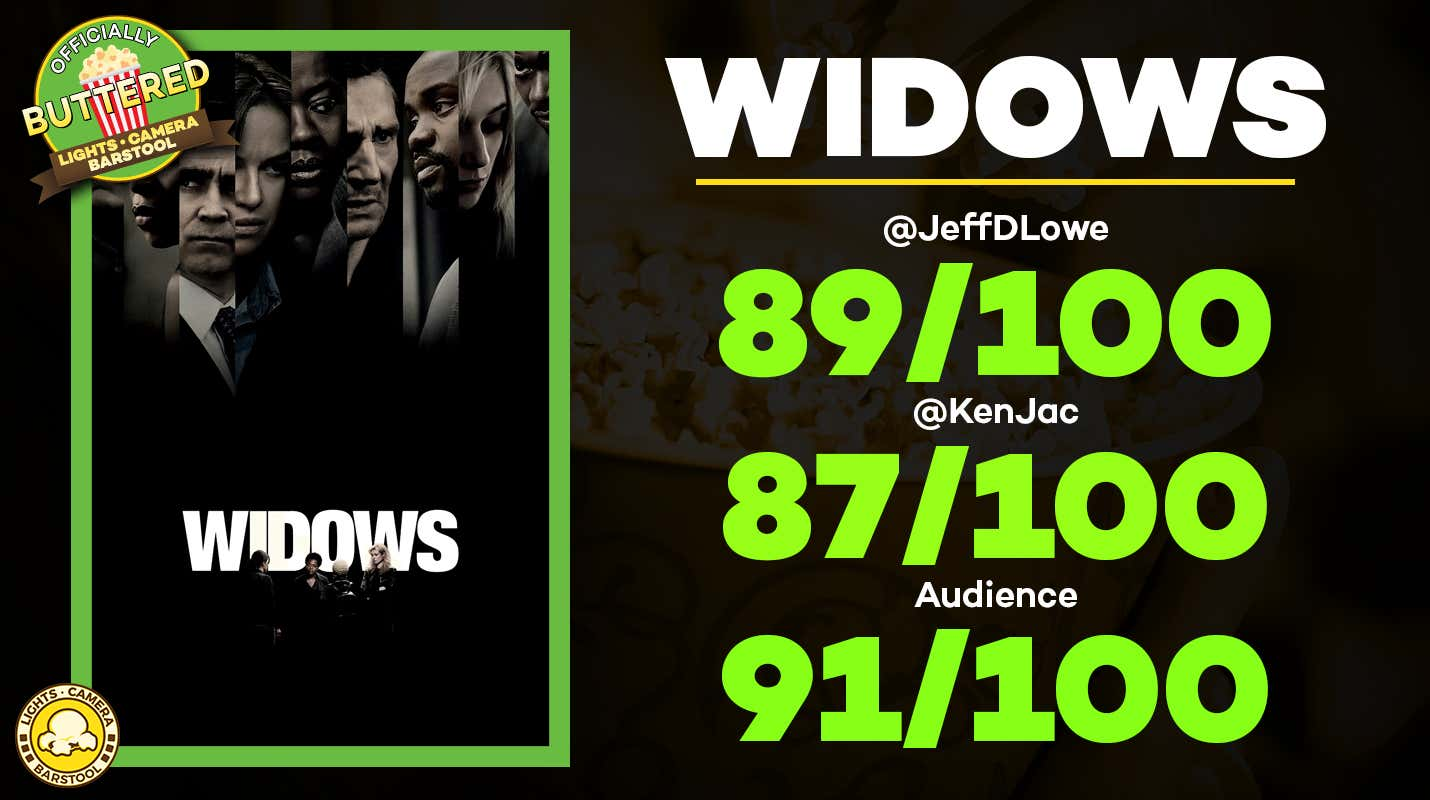 Movie Review: Widows, Overhyped? Maybe. A Good Movie? Yes ...