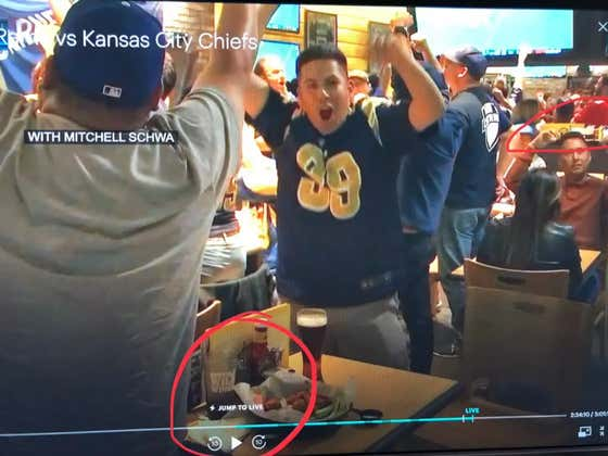 Did E**N Lie About Live Shots From An Authentic Mexican Bar During MNF?!