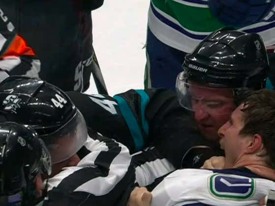 What Is It With The Canucks And Biting People?