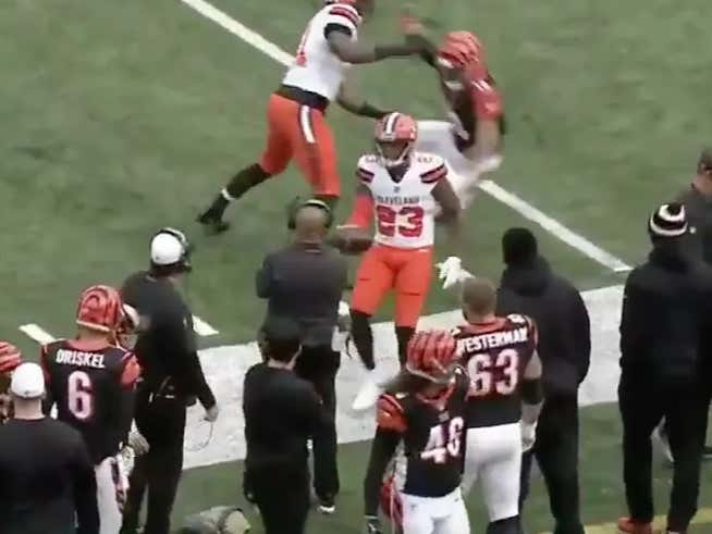 6bd52ddc8 Hue Jackson Has To Retire After Damarious Randall Gave Him His Andy Dalton  INT Ball
