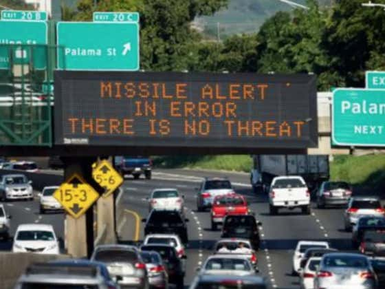 Man Sues Hawaii For Giving Him A Heart Attack With Their Missile Alert