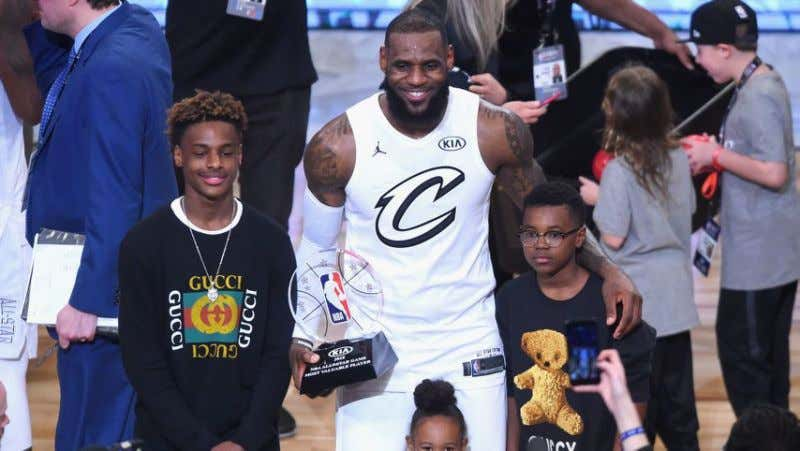 5ef40b3e97ba It s Going To Be Great When LeBron Forces Magic To Draft His Son ...