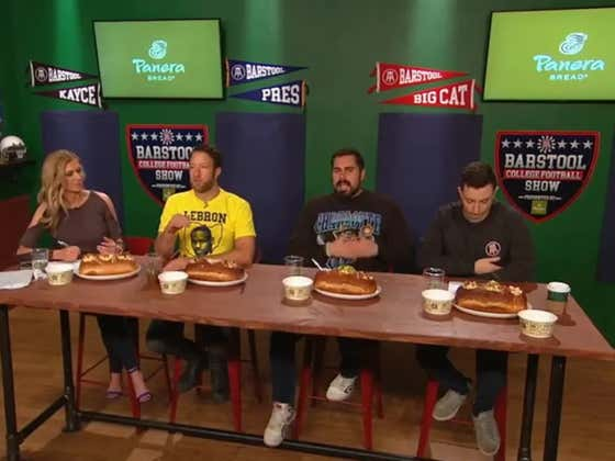 The Barstool College Football Show Presented by Panera – Week 14
