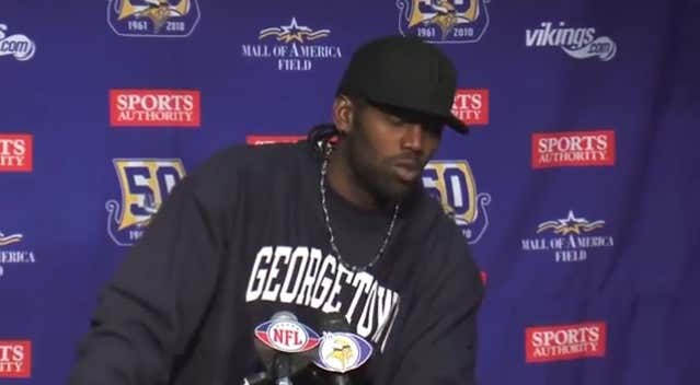 7b0581eb Randy Moss' Craziest Press Conference Takes You Into Patriots ...