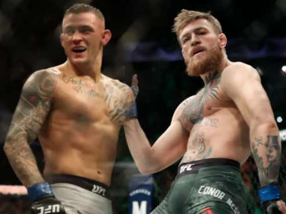 Dana White Says A Rematch With Dustin Poirier Is Next For Conor McGregor