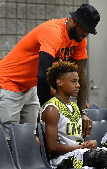 LeBron James Who Didn't Want His Son To Wear His Number To ...