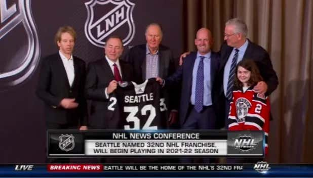 The NHL Has Officially Named Seattle As The 32nd NHL Franchise And Announces Division Realignment