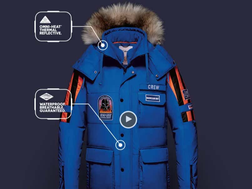 9f5ee7e66a Columbia Makes Awesome Star Wars Jackets I Can t Afford Every Year And It s  Super Annoying - Barstool Sports