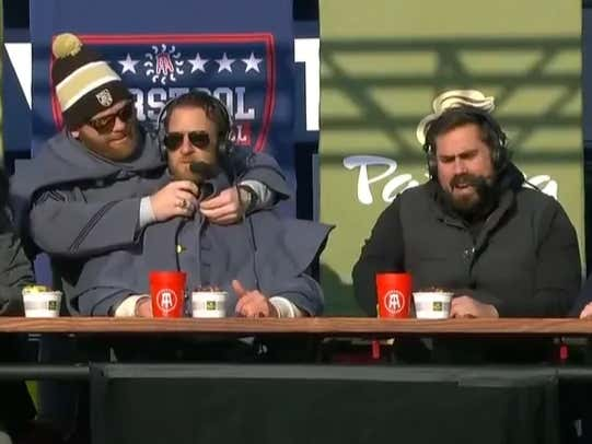 The Barstool College Football Show Presented by Panera from Army Navy