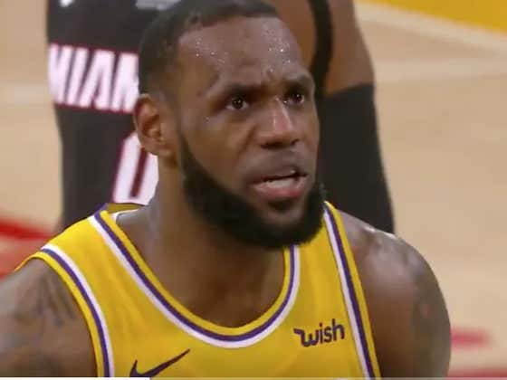 LeBron James Lets The Entire World Know That LeBron James Is The Best Closer While Shooting Late-Game Free Throws