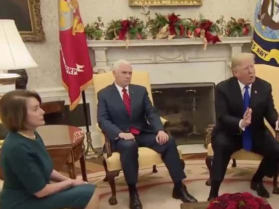 Shockingly, This Trump/Pelosi/Schumer Meeting Isnt A New Scene From Veep