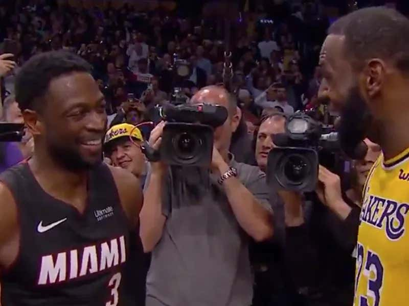 LeBron James Told Dwyane Wade That Their Last Game Together Was Either Going To Be At Staples Center Or Madison Square Garden