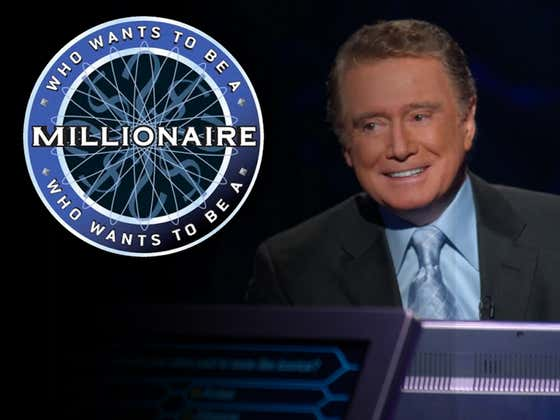 Remember The Cocky Guy Who Was The First 'Millionaire' Winner? Bring This Show Back To Primetime!