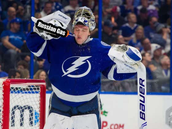 Andrei Vasilevskiy Is Back In Net For The Tampa Bay Lightning And Now The Rest Of The NHL Is In Deep, Deep Shit