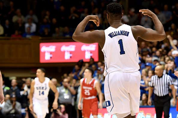 e7c5f85b5375 Zion Williamson Impresses Kevin Durant As A Generational Talent But ...
