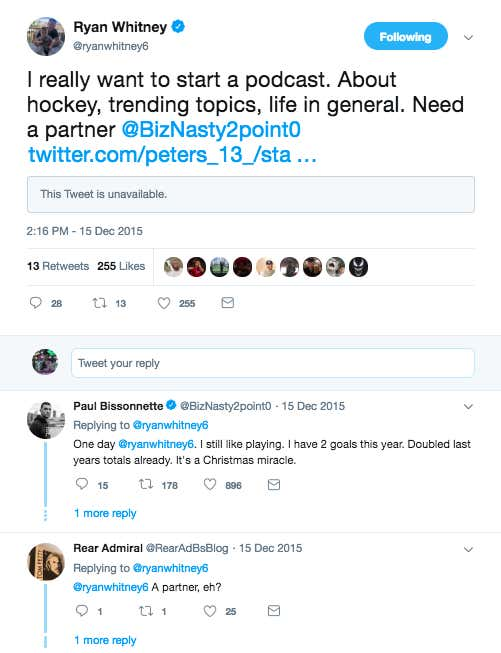 934f6c7b95959a 3 Years Ago Today A Tweet From Ryan Whitney Changed Podcasting Forever