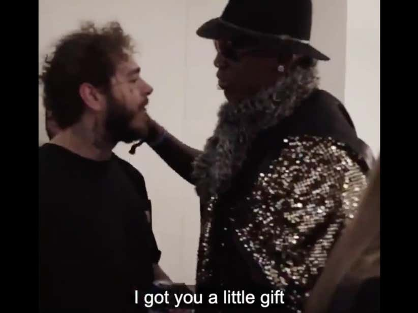 Dennis Rodman Got Post Malone A $25 Gift Card To Olive Garden For Christmas