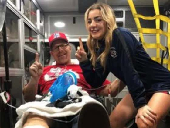 """Fresno State Cheerleader's Dad Breaks Leg Storming Field To Celebrate """"Meaningless"""" Bowl Victory"""