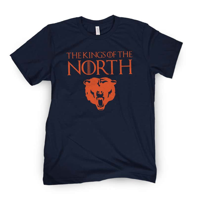 b4268f57b Bears Slay The Dragon To Become Kings Of The NFC North   Buy Your King Of  The North Shirts Here