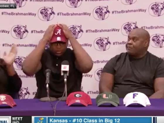 5-Star Recruit's Father Was Not Happy With Son Signing With Alabama