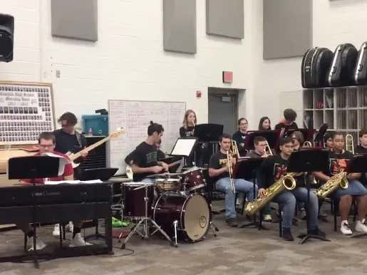 Recruit/Nerd Commits To Stanford With His Jazz Band