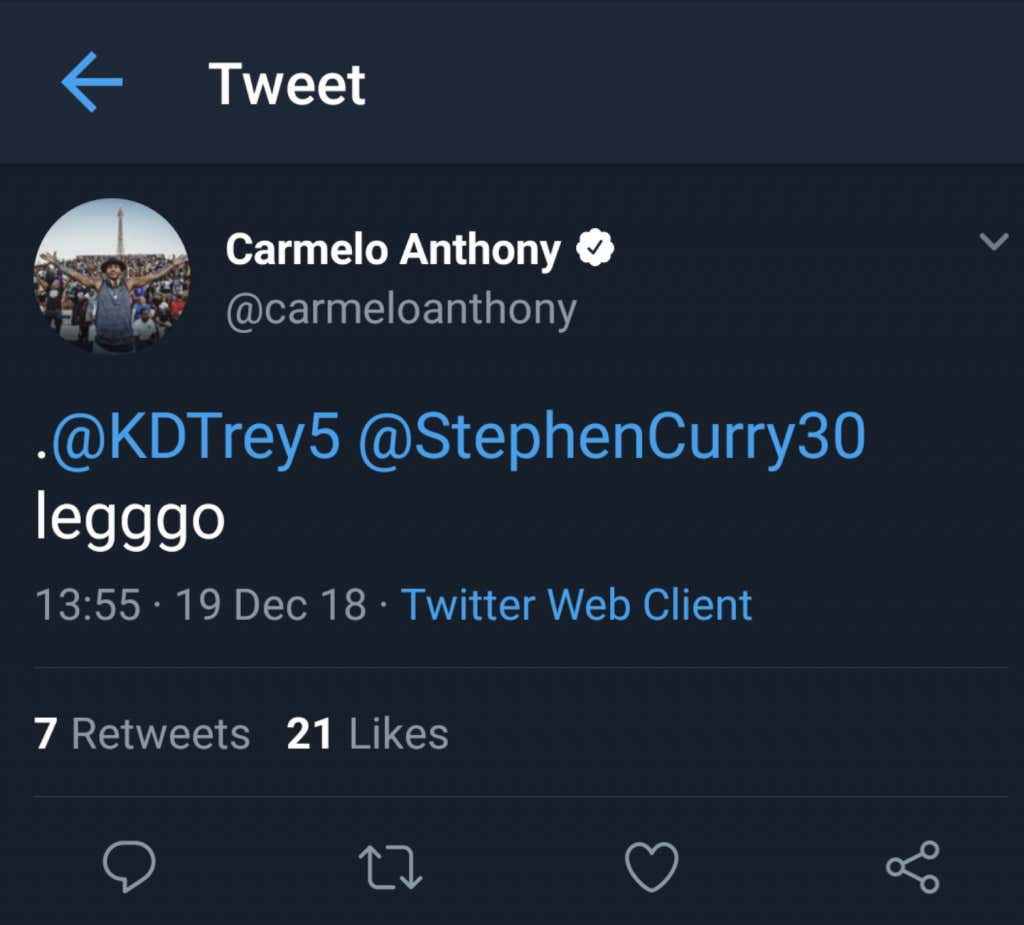 c9b98dfa9c3f Is Melo About To End The Warriors Dynasty  - Barstool Sports