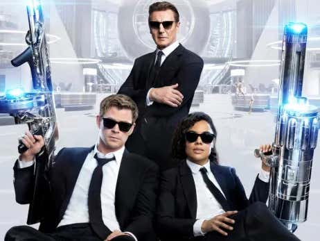 The Trailer For Men In Black: International, Featuring Chris Hemsworth, Liam Neeson, And Tessa Thompson, Looks Great!